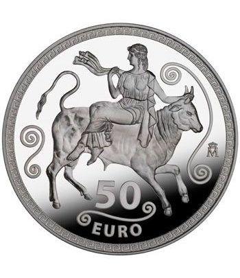 Moneda 2012 Xº Aniversario del Euro. 50 euros. Plata.  - 1
