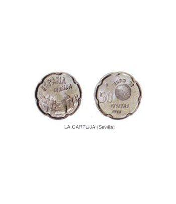 50 Pesetas. (1990) Madrid - (LA CARTUJA - SEVILLA) SC  - 2