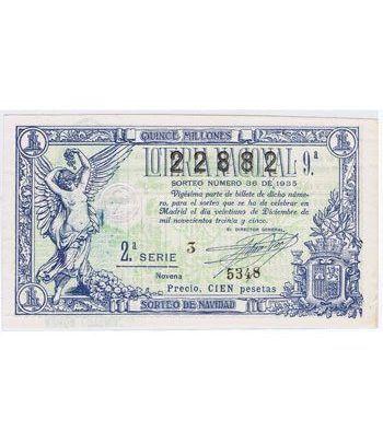Loteria Nacional. 1935 sorteo 36 (Navidad).  - 2