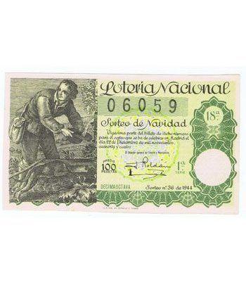 Loteria Nacional. 1944 sorteo 36 (Navidad).  - 2