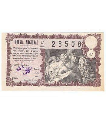 Loteria Nacional. 1943 sorteo 36 (Navidad).  - 2