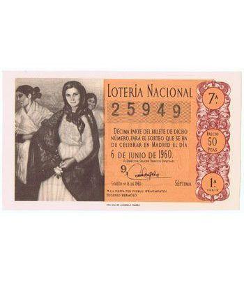 Loteria Nacional. 1960 sorteo 16.  - 2