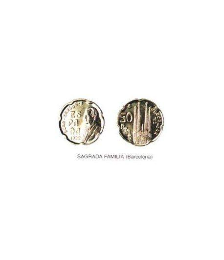 50 Pesetas. (1992) Madrid - (SAGRADA FAMILIA - BARCELONA) SC  - 2