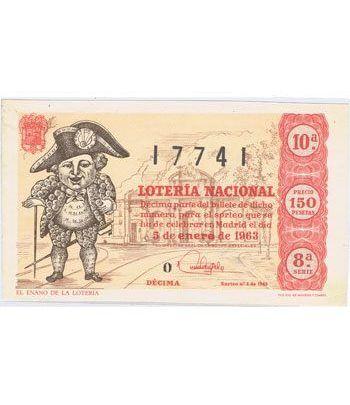 Loteria Nacional. 1963 sorteo 1.  - 2