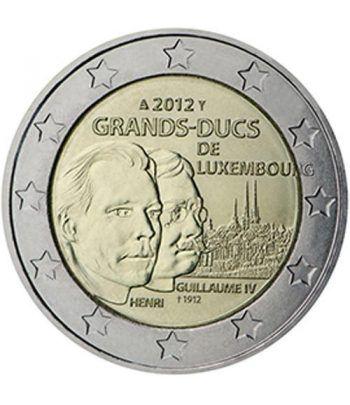 moneda conmemorativa 2 euros Luxemburgo 2012.  - 2