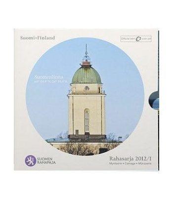 Cartera oficial euroset Finlandia 2012.  - 1