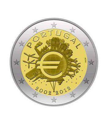 "moneda Portugal 2 euros 2012 ""X ANIVERSARIO DEL EURO"".  - 2"