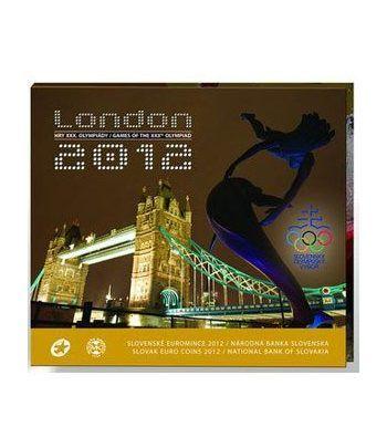 Cartera oficial euroset Eslovaquia 2012. Londres 2012.  - 6