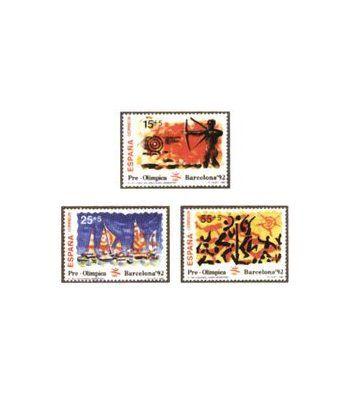 3157/59 Barcelona'92. VIII Serie Pre-Olímpica  - 2