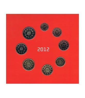 Cartera oficial euroset Portugal 2012  - 2