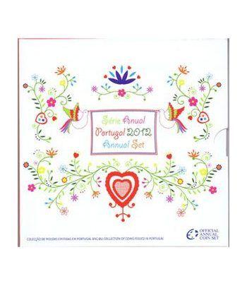 Cartera oficial euroset Portugal 2012  - 1