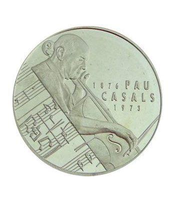 5 ECU. ECU de Catalunya. Pau Casals. (1993). Incluye CD.  - 4