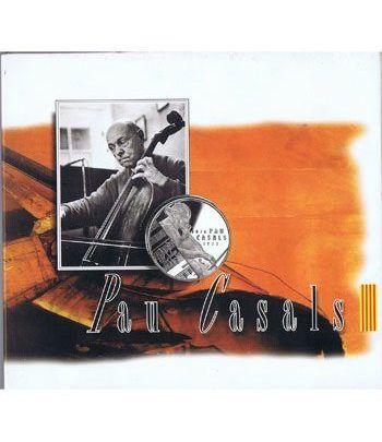 5 ECU. ECU de Catalunya. Pau Casals. (1993). Incluye CD.  - 6