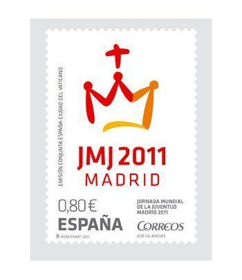 4656 Jornada Mundial de la Juventud. Madrid 2011.Visita del Papa  - 2