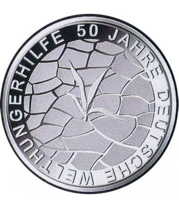 moneda Alemania 10 Euros 2012 G. Agro Acción Alemana.  - 2
