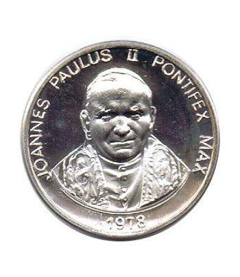 Medallas 3 Papas año 1978 Vaticano. Plata.  - 1