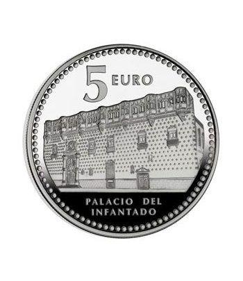 Moneda 2012 Capitales de provincia. Guadalajara. 5 euros. Plata.  - 2