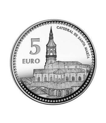 Moneda 2012 Capitales de provincia. Vitoria. 5 euros. Plata.  - 2