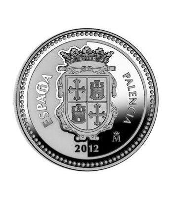 Moneda 2012 Capitales de provincia. Palencia. 5 euros. Plata.  - 4