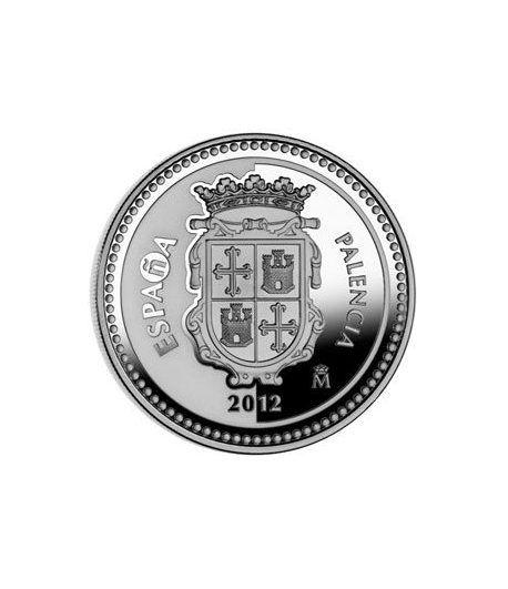 Moneda 2012 Capitales de provincia. Palencia. 5 euros. Plata.  - 1