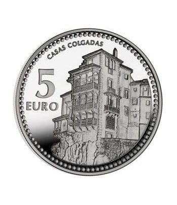 Moneda 2012 Capitales de provincia. Cuenca. 5 euros. Plata.  - 2