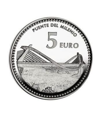 Moneda 2012 Capitales de provincia. Ourense. 5 euros. Plata.  - 2