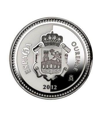 Moneda 2012 Capitales de provincia. Ourense. 5 euros. Plata.  - 4
