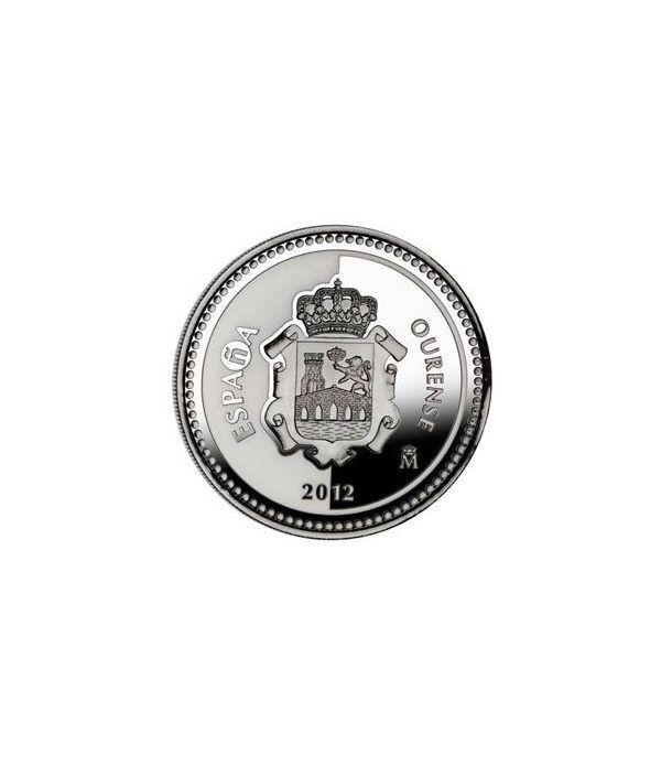 Moneda 2012 Capitales de provincia. Ourense. 5 euros. Plata.  - 1