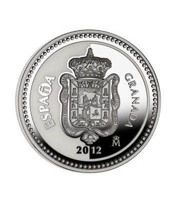 Moneda 2012 Capitales de provincia. Granada. 5 euros. Plata.  - 1