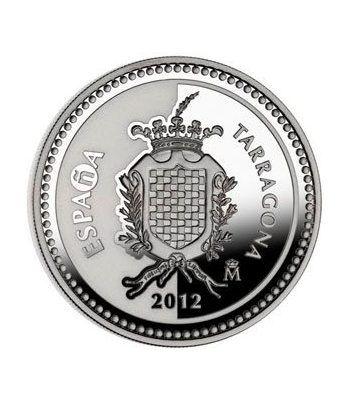 Moneda 2012 Capitales de provincia. Tarragona. 5 euros. Plata.  - 1