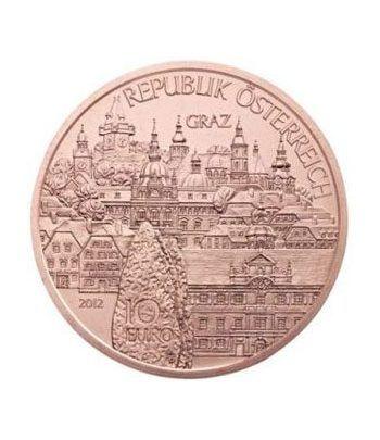 moneda Austria 10 Euros 2012 (Estado de Styria). Cobre.  - 2