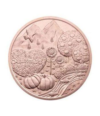 moneda Austria 10 Euros 2012 (Estado de Styria). Cobre.  - 4