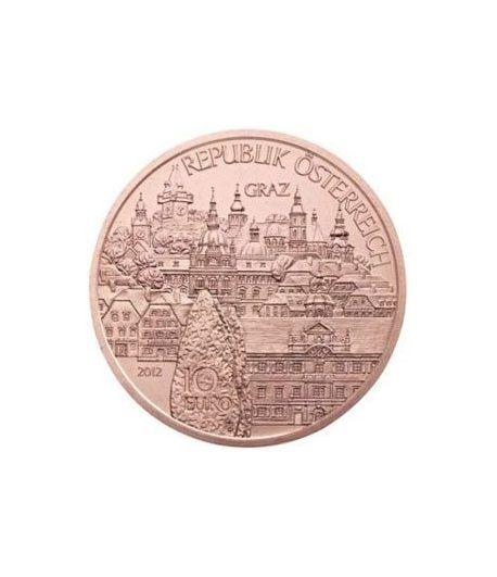 moneda Austria 10 Euros 2012 (Estado de Styria). Cobre.  - 1