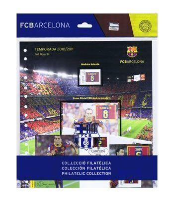 Colección Filatélica Oficial F.C. Barcelona. Pack nº06.  - 1