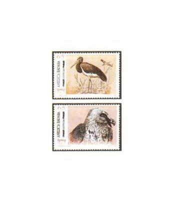 3270/71 América-UPAEP. Aves en peligro de extinción  - 2