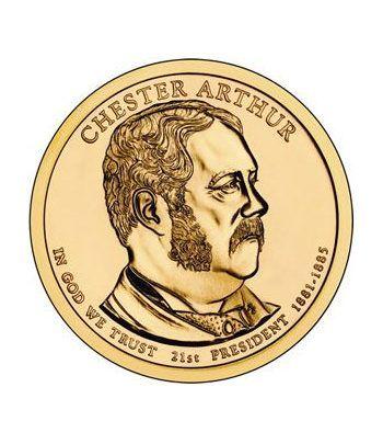 E.E.U.U. 1$ (2012) 21º Presidencial Chester Arthur (2cecas).  - 2