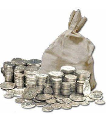 Monedas de plata medio kilo.  - 2