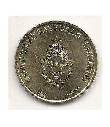 Euro prueba Italia 50 centimos de euro. Sasello. Liguria.  - 1
