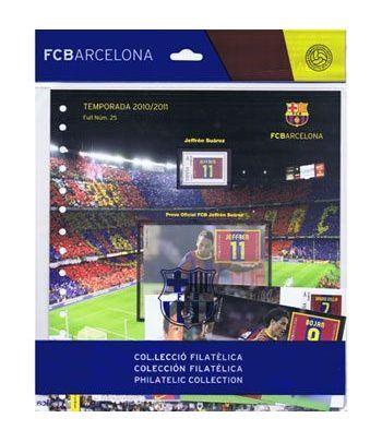 Colección Filatélica Oficial F.C. Barcelona. Pack nº09.  - 1