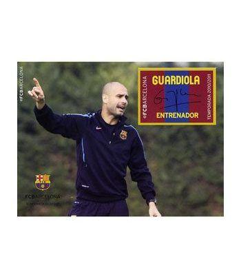 Colección Filatélica Oficial F.C. Barcelona. Pack nº10.Guardiola  - 4