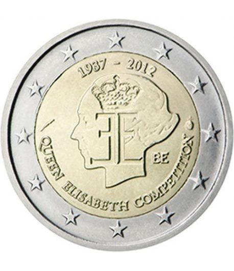 moneda conmemorativa 2 euros Belgica 2012.  - 2
