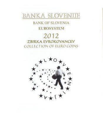 Cartera oficial euroset Eslovenia 2012 (incluye 2 y 3 euros).  - 2