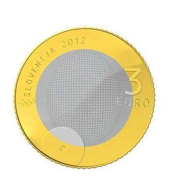 Cartera oficial euroset Eslovenia 2012 (incluye 2 y 3 euros).  - 8