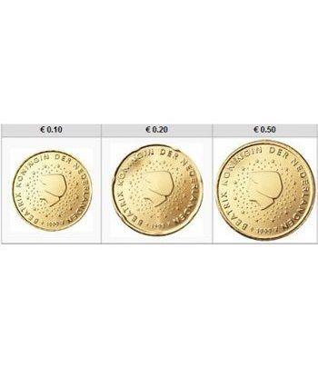monedas euro serie Holanda 2012 (10-20-50 centimos)  - 2
