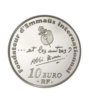 Francia 10 € 2012 Centenario del nacimiento de Abbe Pierre.  - 1