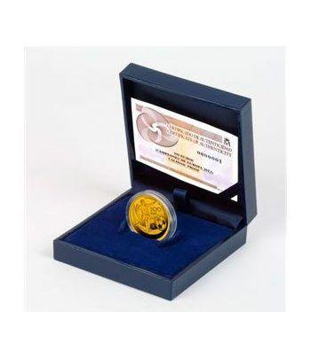 image: LEUCHTTURM 100 cartones monedas 22.5 mm.