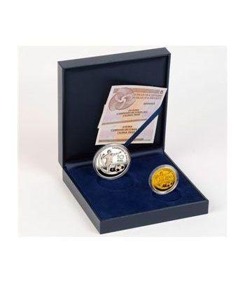 image: LEUCHTTURM 100 cartones monedas 27.5 mm.