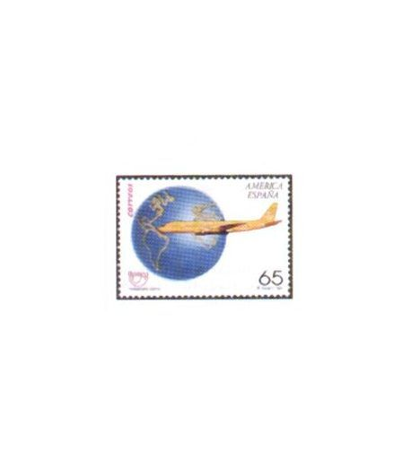 3321 América-UPAEP. Transporte postal  - 2