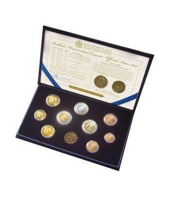 Cartera oficial euroset Malta 2012. Incluye 2€ conmemorativos  - 1