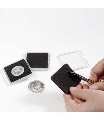 LEUCHTTURM Capsulas QUADRUM sin perforar. (10) Capsulas Monedas - 2
